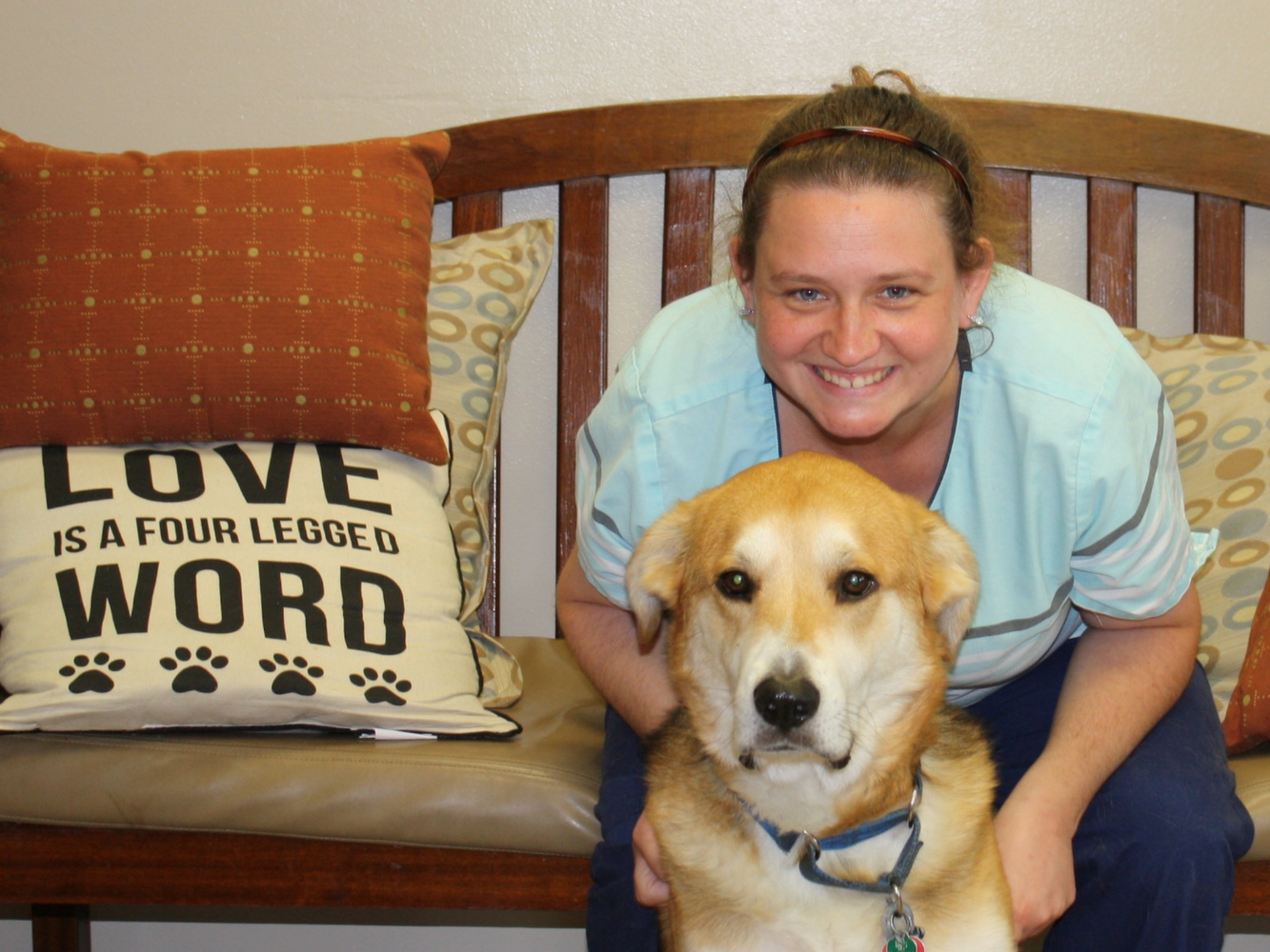 Amanda At Love Pet Hospital