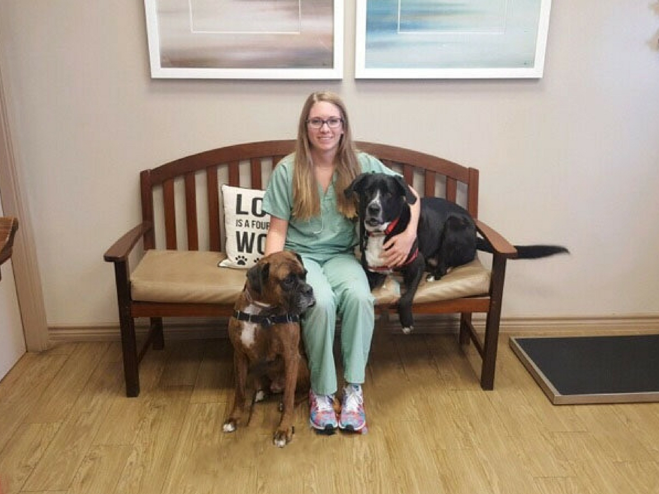 Dr. Sheridan at Love Pet Hospital